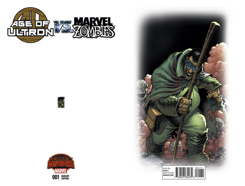 Age of Ultron vs. Marvel Zombies #1 (Ant-Sized Cover)
