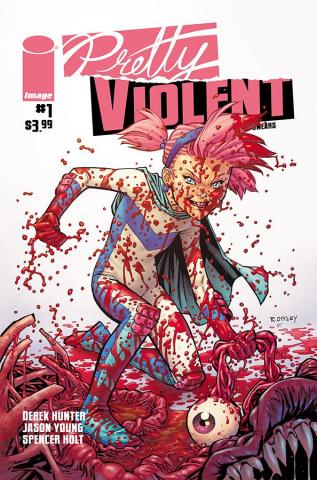 Pretty Violent #1 (Ottley Cover)
