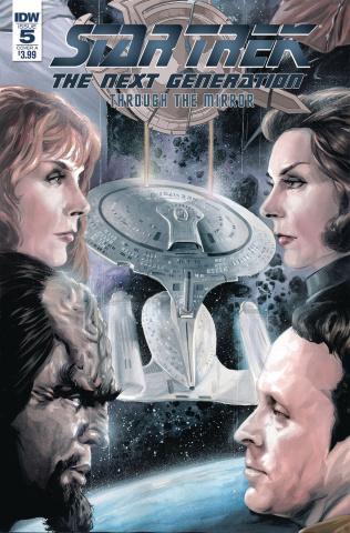 Star Trek: The Next Generation - Through the Mirror #5 (Woodward Cover)