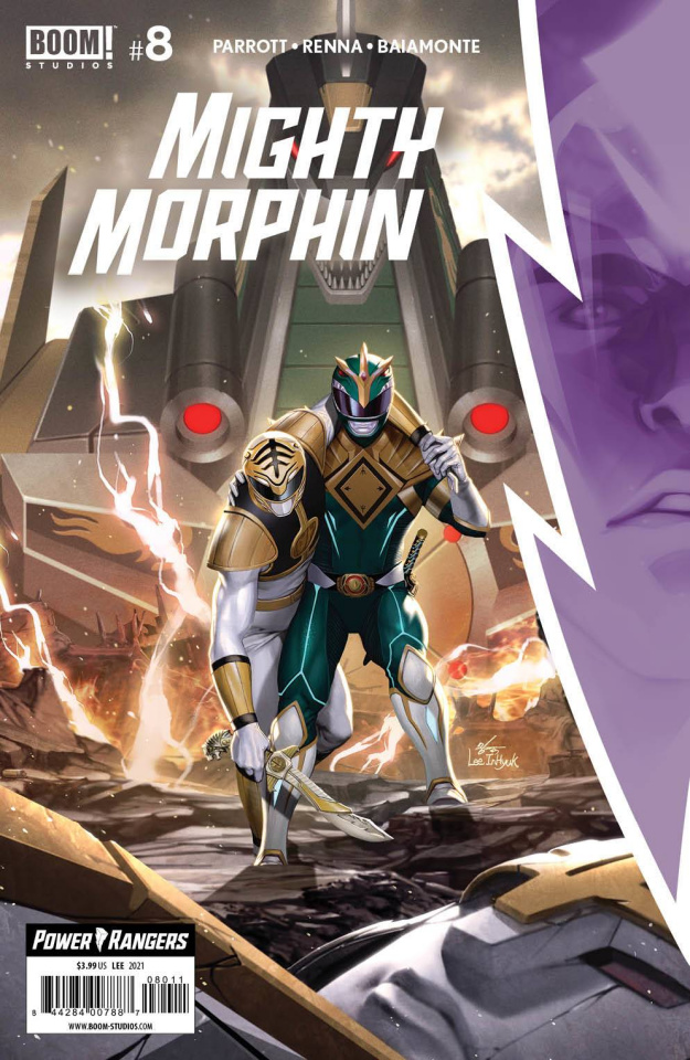 Mighty Morphin' #8 (Lee Cover)