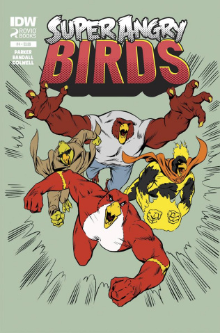 Angry Birds: Super Angry Birds #4