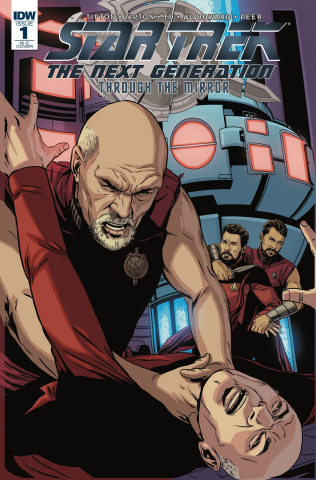 Star Trek: The Next Generation - Through the Mirror #1 (100 Copy Cover)