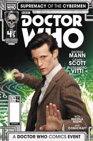 Doctor Who: Supremacy of the Cybermen #4 (Photo Cover)