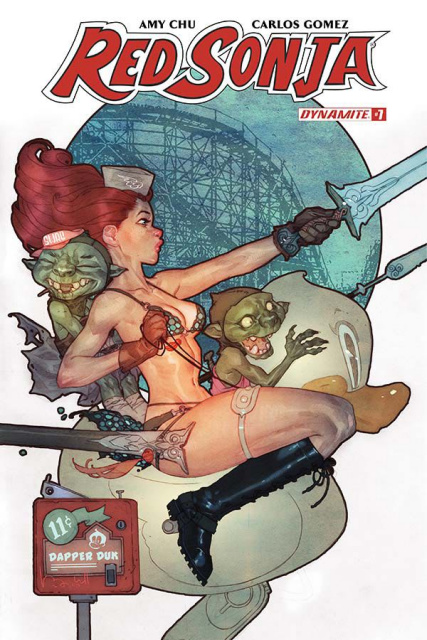 Red Sonja #7 (Caldwell Cover)