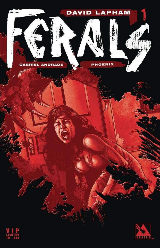 Ferals #1 (Phoenix VIP Cover)