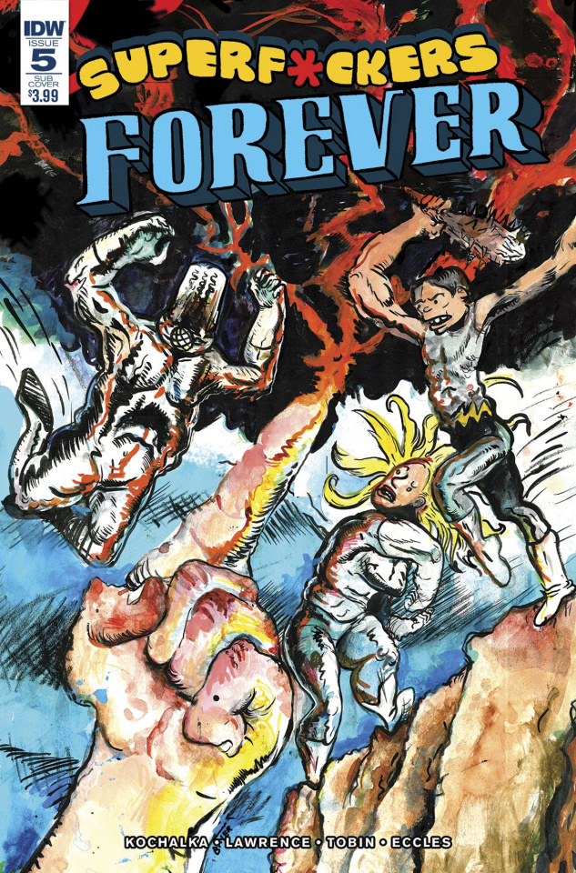 Super F*ckers Forever #5 (Subscription Cover)