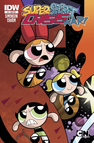 Super Secret Crisis War! #3 (Subscription Cover)