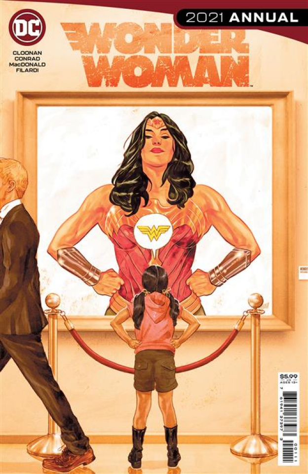 Wonder Woman 2021 Annual #1 (Mitch Gerads Cover)