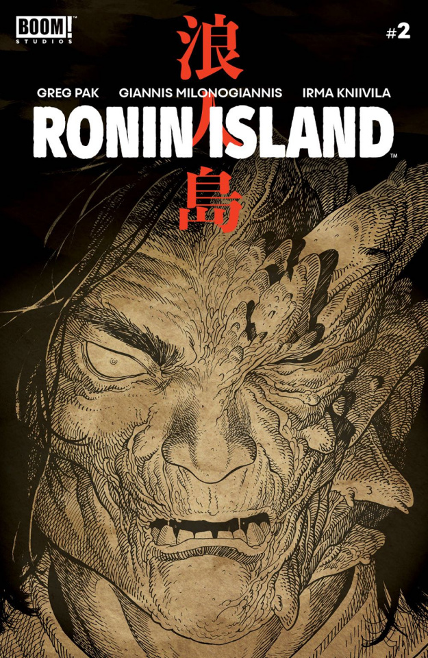 Ronin Island #2 (Preorder Young Cover)