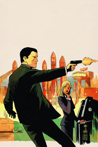 James Bond: Hammerhead #1 (20 Copy Virgin Cover)