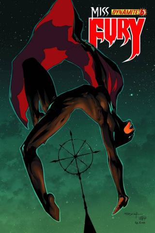 Miss Fury #6 (Syaf Cover)