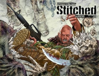 Stitched #2 (Wrap Cover)