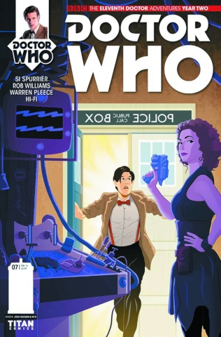 Doctor Who: New Adventures with the Eleventh Doctor, Year Two #7 (Miller Cover)