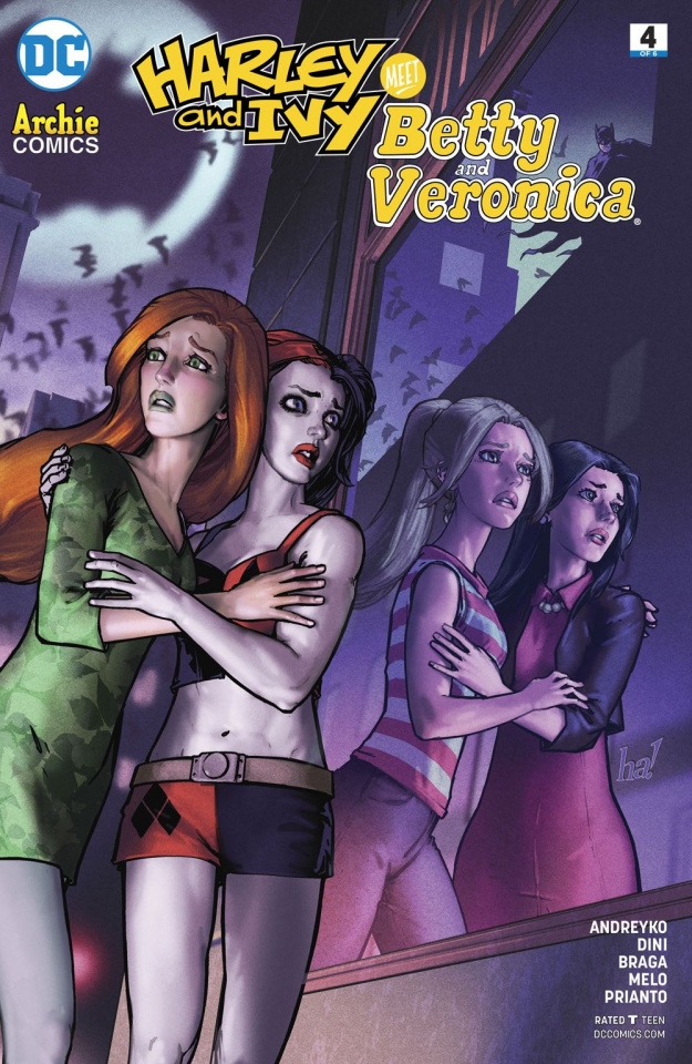 Harley and Ivy Meet Betty and Veronica #4 (Variant Cover)