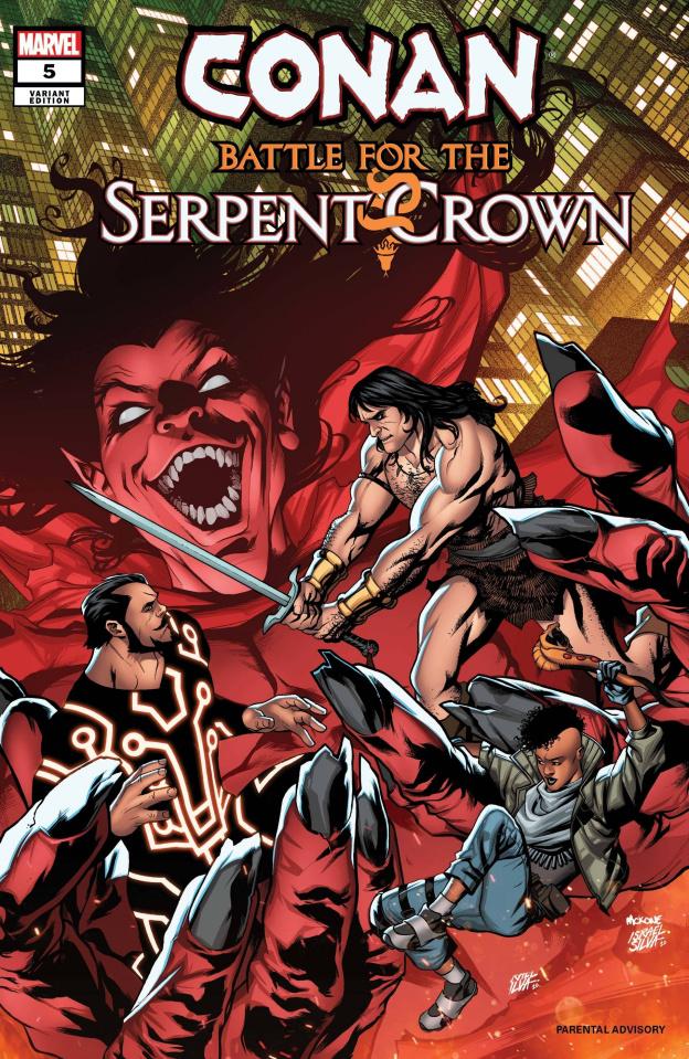 Conan: Battle for the Serpent Crown #5 (McKone Cover)