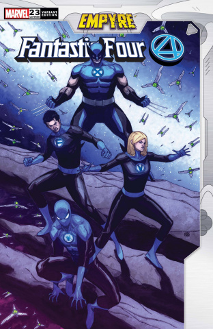 Fantastic Four #23 (Pham Empyre Cover)