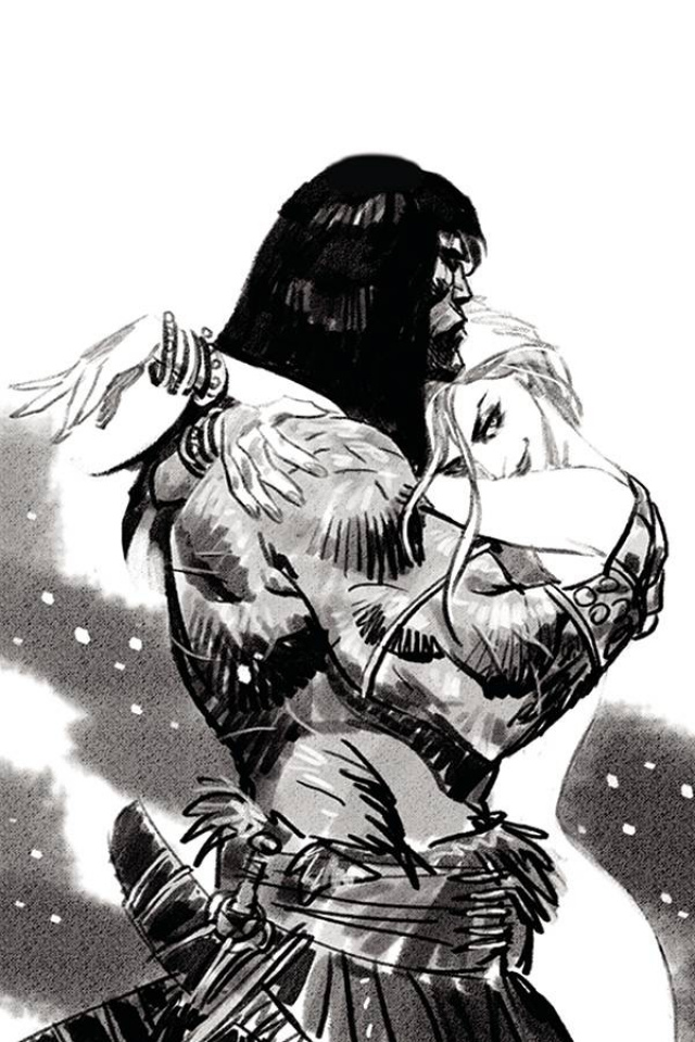 The Cimmerian: The Frost Giant's Daughter #3 (20 Copy Panosian Pencil Cover)