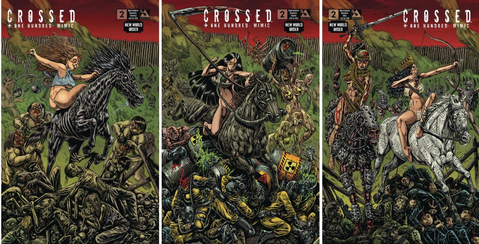 Crossed + One Hundred: Mimic #2 (NWO Apocalypse Raiders)