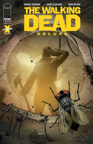 The Walking Dead Deluxe #9 (Moore & McCaig Cover)