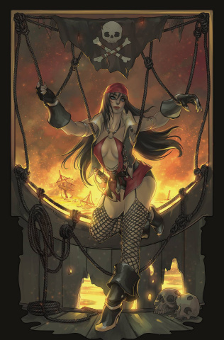 Vampiverse #4 (Hetrick Virgin Cover)