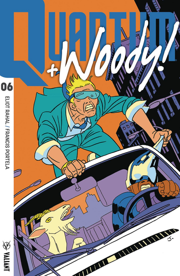 Quantum & Woody #6 (50 Copy Pulido Cover)