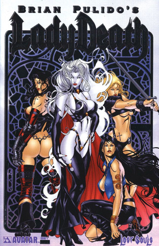 Lady Death: Lost Souls #1 (Platinum Foil Cover)
