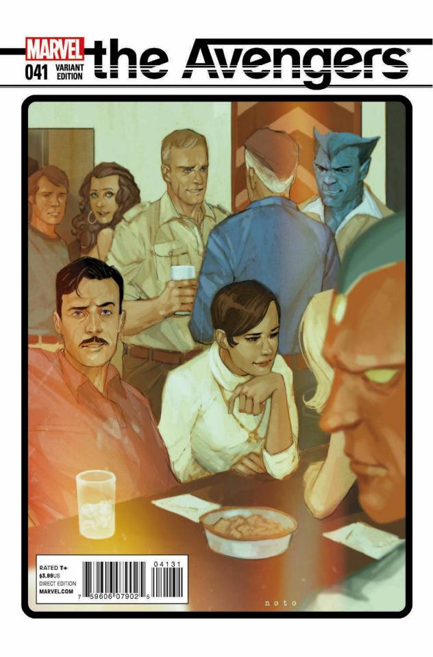 Avengers #41 (Noto Cover)