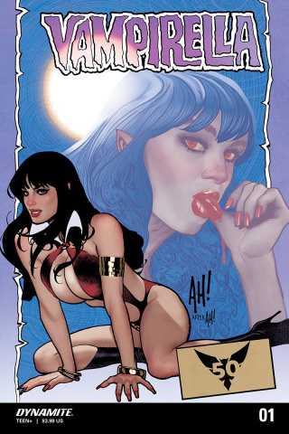 Vampirella #1 (10 Copy Hughes Homage Cover)