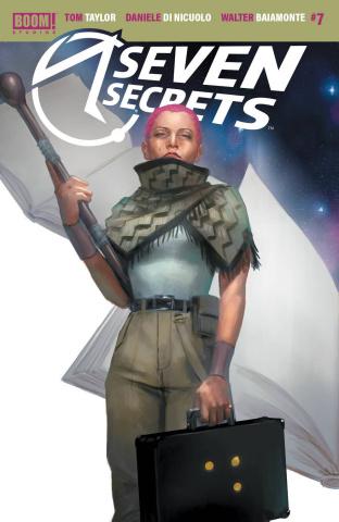 Seven Secrets #7 (10 Copy Mercado Cover)