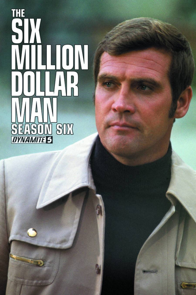 The Six Million Dollar Man, Season 6 #5 (Subscription Cover)