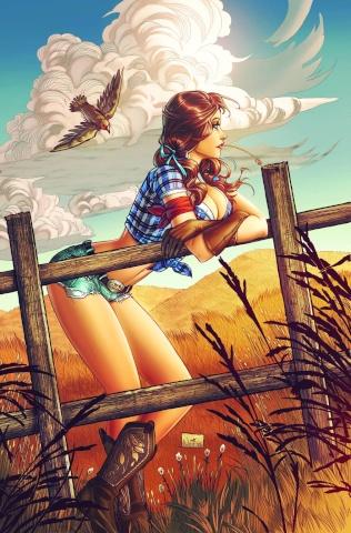 Grimm Fairy Tales: Oz #5 (Ruffino Cover)