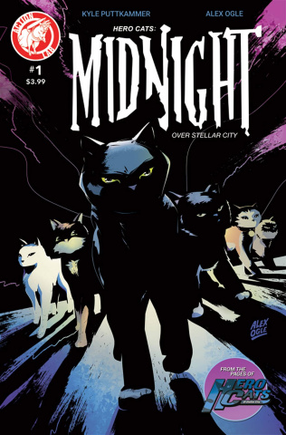 Hero Cats: Midnight Over Stellar City #1
