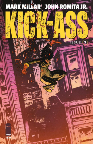 Kick-Ass #3 (Johnson Cover)