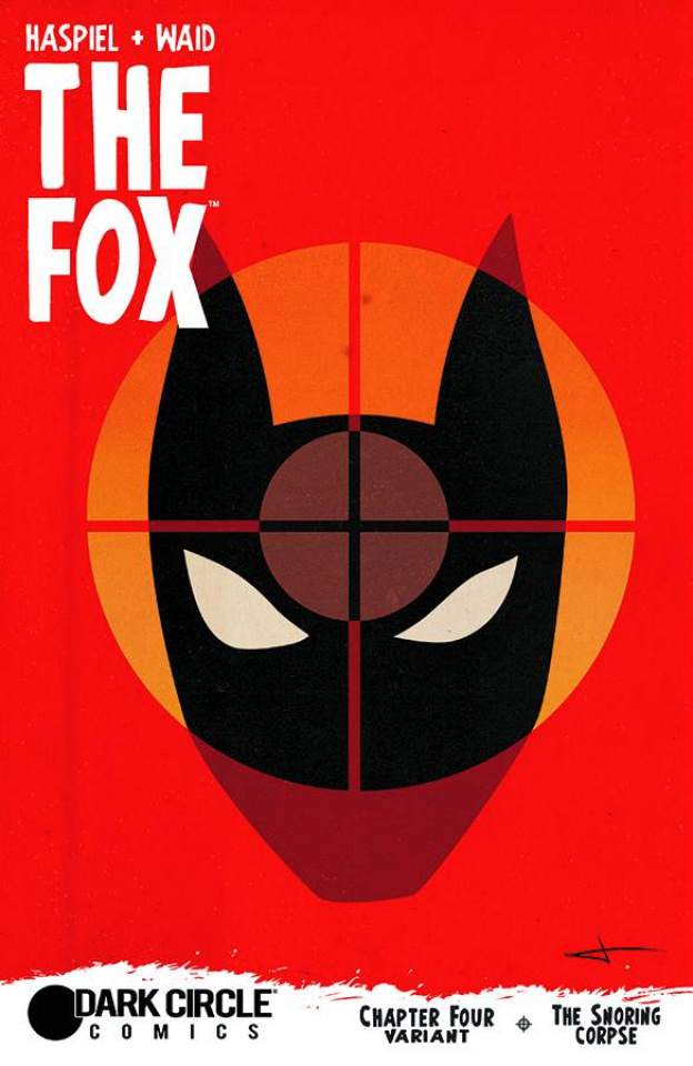 The Fox #4 (Rodriguez Cover)