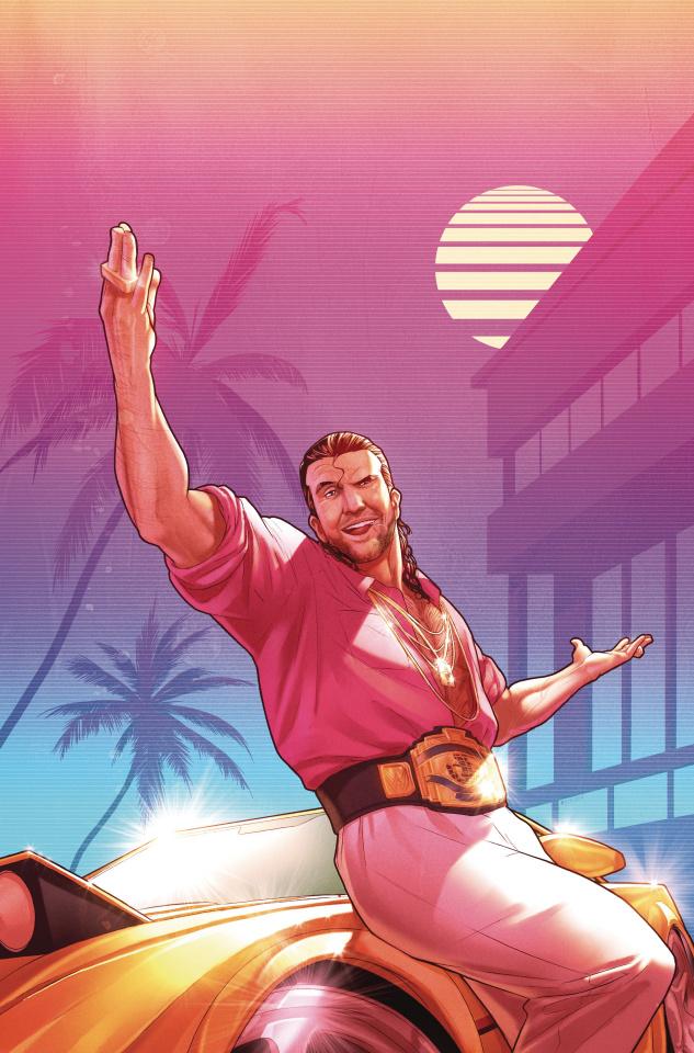 WWE #1 (50 Copy Razor Ramon Campbell Cover)