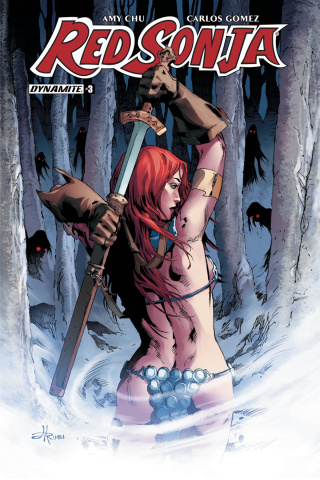 Red Sonja #3 (Rubi Subscription Cover)