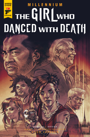 The Girl Who Danced with Death #3 (Ortega Cover)