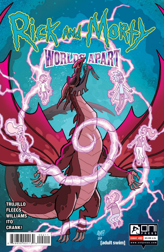 Rick and Morty: Worlds Apart #2 (Fleecs Cover)