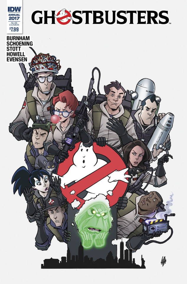 Ghostbusters Annual 2017 (Subscription Cover)