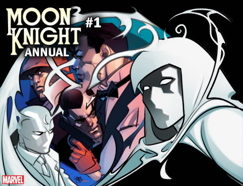 Moon Knight Annual #1 (Ferry Immortal Cover)