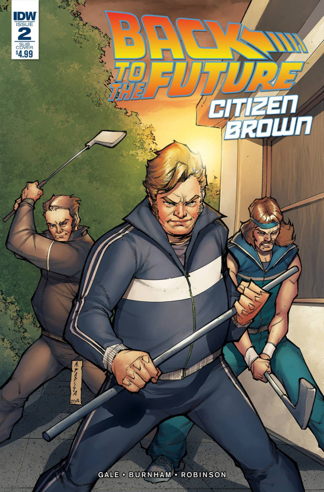 Back to the Future: Citizen Brown #2 (Subscription Cover)