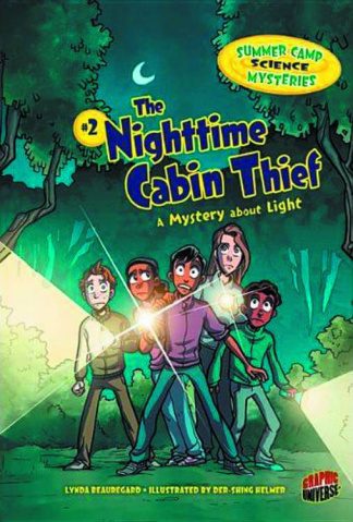 Summer Camp Science Mysteries Vol. 2: The Nightmare Cabin Thief