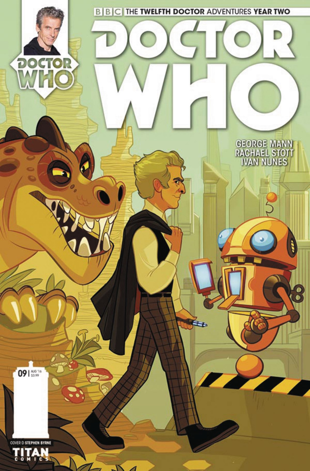 Doctor Who: New Adventures with the Twelfth Doctor, Year Two #9 (Byrne Cover)
