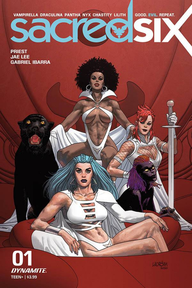 Sacred Six #1 (Ladronn Cover)