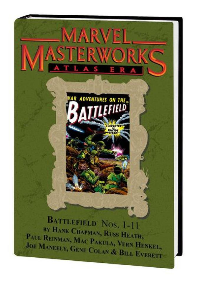 Marvel Masterworks: Atlas Era Battlefield Vol. 1 (Variant Edition)