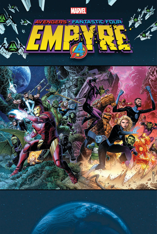 Empyre (Omnibus Cheung Avengers / Fantastic Four Cover)