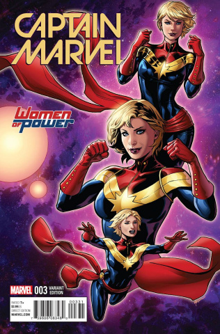 Captain Marvel #3 (Lupacchino Cover)