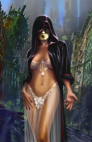 Grimm Fairy Tales: Grimm Tales of Terror #4 (Mondero Cover)