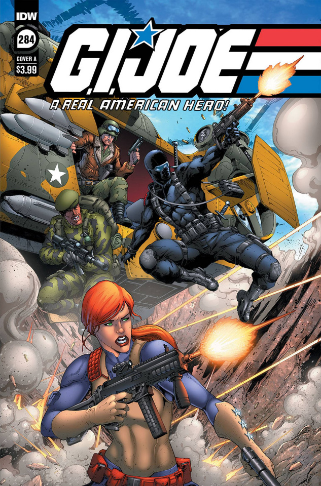 G.I. Joe: A Real American Hero #284 (Andrew Griffith Cover)