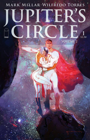 Jupiter's Circle #1 (Sienkiewicz Cover)